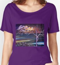 MYSTIC EVENING Women's Relaxed Fit T-Shirt