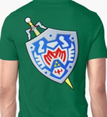 Hero's Shield and the Gilded Sword (From Majoras Mask) T-Shirt