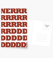 NERRRDDD! [Vintage] Postcards