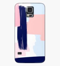 Modern Abstract Brush Stroke Art Case/Skin for Samsung Galaxy