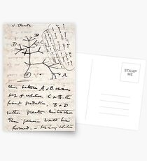 I Think - Charles Darwin 1 Postcards