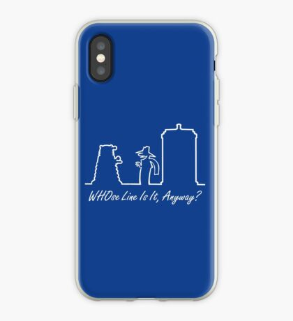 WHOse Line Is It, Anyway? iPhone Case