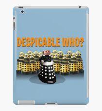 DESPICABLE WHO? iPad Case/Skin