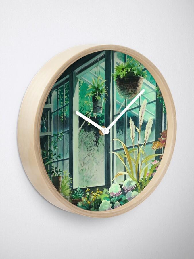 Alternate view of Kiki's Delivery Service Ghibli Studio Clock