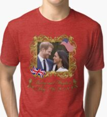 Prince Harry and Meghan Markle Tri-blend T-Shirt