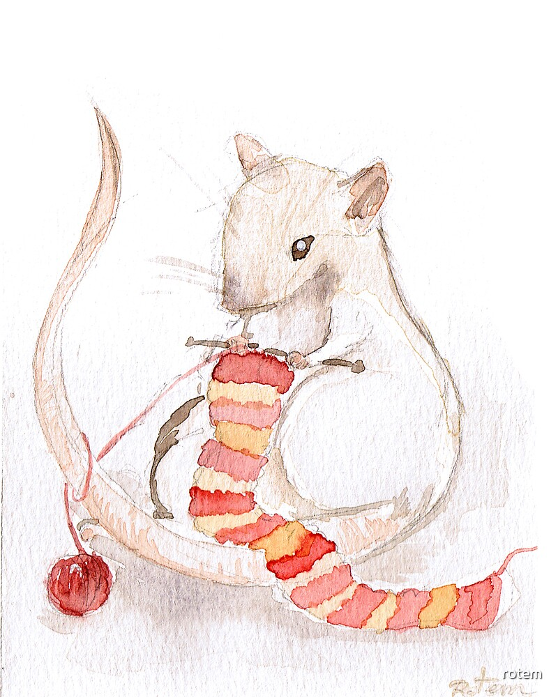 Fibre Rats I - Knitting by rotem
