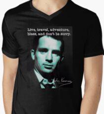 Jack kerouac Men's V-Neck T-Shirt