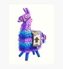 Fortnite Llama Pinata 3D Art Print
