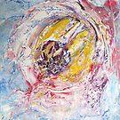 Flower of Lechery, original Abstract painting by Dmitri Matkovsky