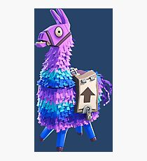 Fortnite Llama Pinata Photographic Print