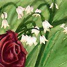 Lily Rose von bdesantisart
