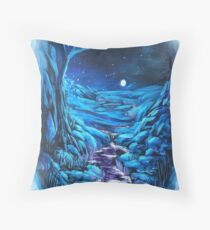 Dreamscape Night time lights Floor Pillow