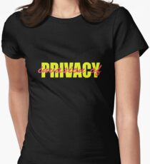 PRIVACY Women's Fitted T-Shirt