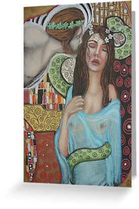 Ariadne and Dionysus by MoonSpiral