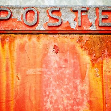 Poste- Italian weathered mailbox by sil63