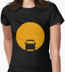Camiseta entallada para mujer Puesta de sol