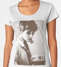 Edie Sedgwick Photography Andy Warhol Sixties It Girl Women's Premium T-Shirt