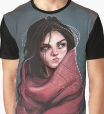 Femme de la nature - illustration T-shirt graphique