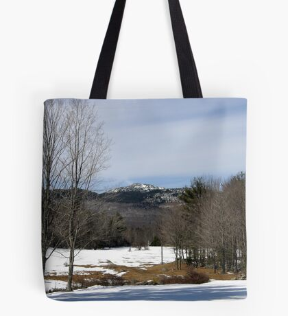Mount Monadnock in Winter, Jaffrey, NH Tote Bag