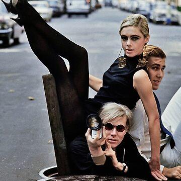 Edie Sedgwick Andy Warhol Photography Fashion Icon by HoneymoonHotel