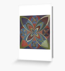 Earth Tile 1 Greeting Card