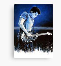 John Mayer Blues Canvas Print