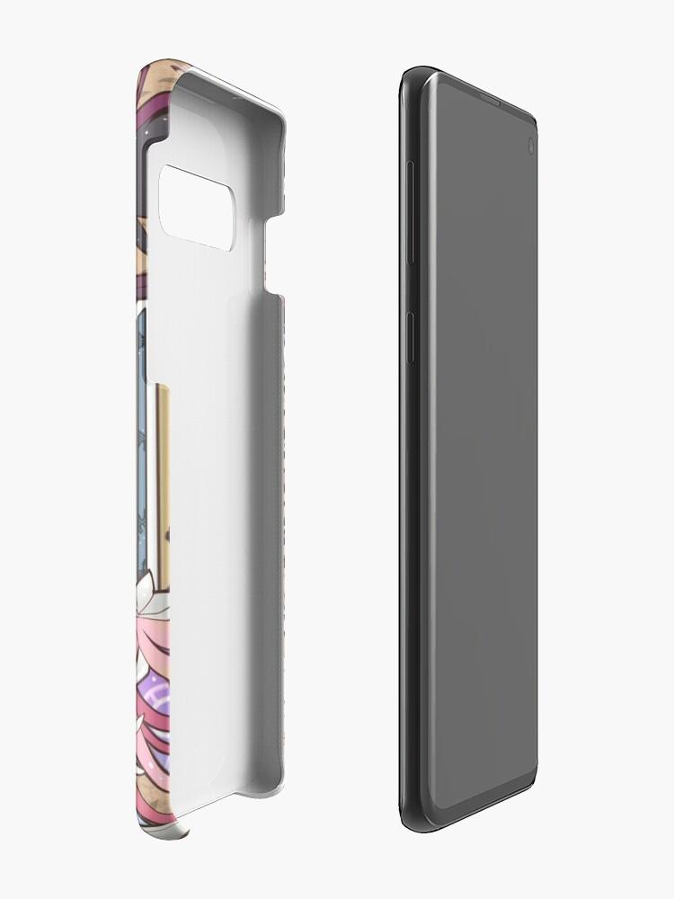 Alternative Ansicht von Madoka und Homura Hülle & Klebefolie für Samsung Galaxy