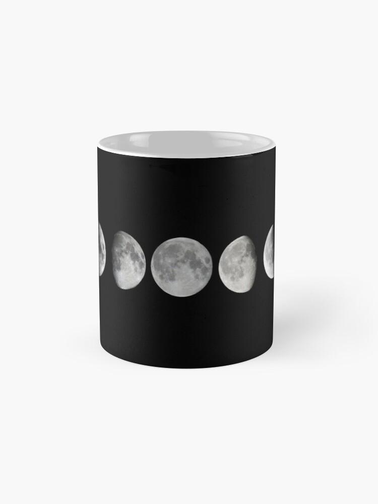 Alternative Ansicht von Mondphasen Tasse (Standard)