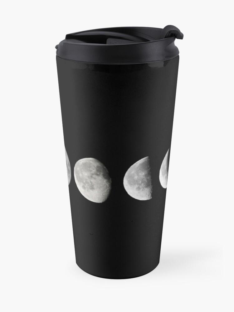 Alternative Ansicht von Mondphasen Thermosbecher