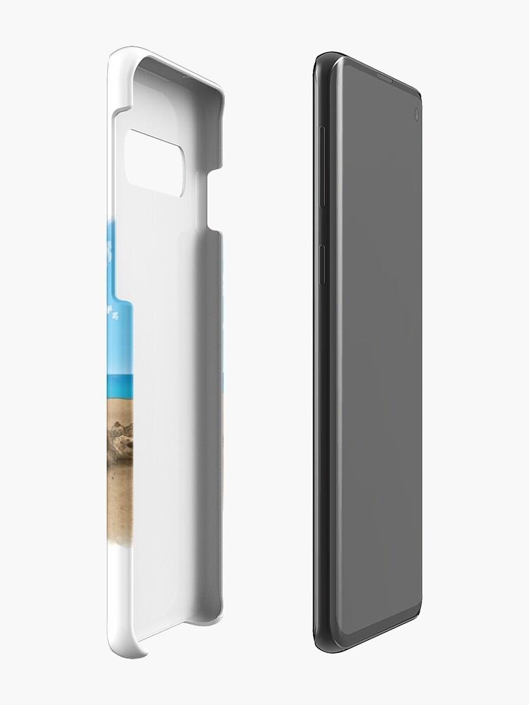 Vista alternativa de Funda y vinilo para Samsung Galaxy Beach Buds - desdentado y cosido
