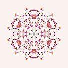 Floral Mandala by raquelcatalan