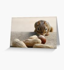 CAUTIOUS! Greeting Card