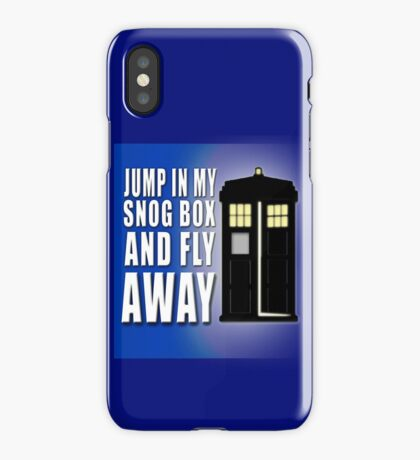 Snog Box iPhone Case/Skin