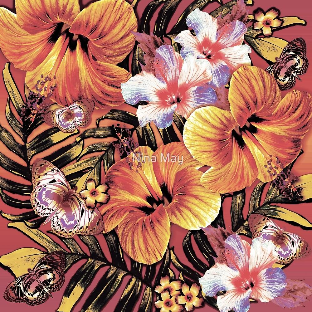 Orange Aloha by Nina May