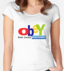 Obay  Women's Fitted Scoop T-Shirt