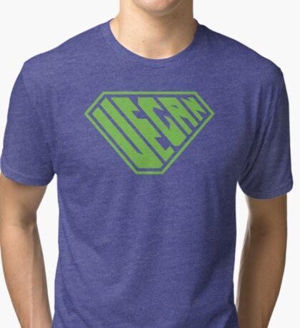 Vegan SuperEmpowered (Green) Tri-blend T-Shirt