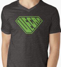 Vegan SuperEmpowered (Green) V-Neck T-Shirt