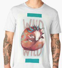 Wild Fox - le renard et la fille - illustration T-shirt premium homme