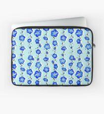 Baby Blue Wildflower Laptop Sleeve