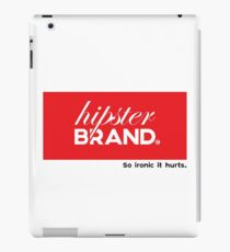 Hipster Brand iPad Case/Skin