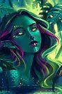 Monstera Mermaid by FaerytaleWings
