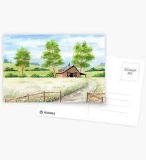 Country landscape Postcards