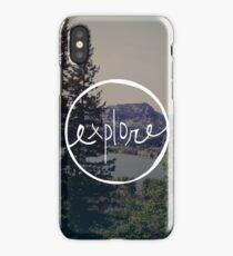 Explore Oregon iPhone Case/Skin