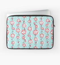 Watermelon Pink Wildflower Laptop Sleeve