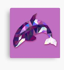 Orca Animals Gift Canvas Print
