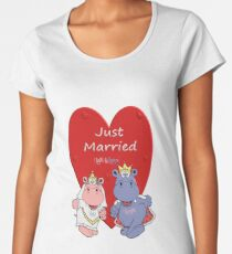 Just married Frauen Premium T-Shirts