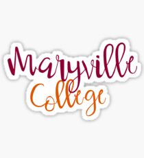 Maryville College Sticker