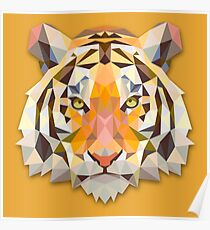 Tiger Animals Gift Poster