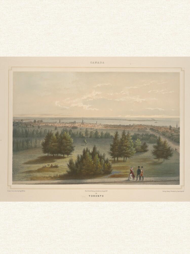 Vintage Pictorial View of Toronto Canada (1851) by BravuraMedia