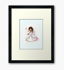 Lochlady Dress Framed Print